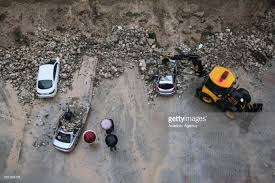 retaining wall collapses in turkey u0027s adana pictures getty images