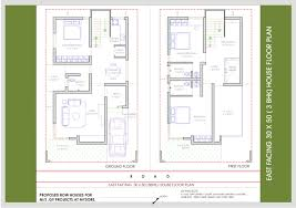 Wonderful Looking 7 14 X 50 House Plans South Facing 30 60 Home
