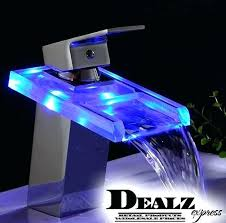 bathroom faucet with led light bathroom faucet with led light standardhardware co