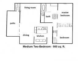 900 sq ft apartment floor plan sample contract for deed
