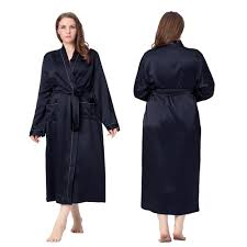 robes de chambre grandes tailles de chambre satin grande taille