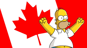 homer simpson is canadian youtube