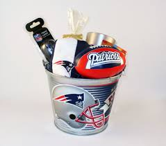 new patriots premier pail gift set nicey