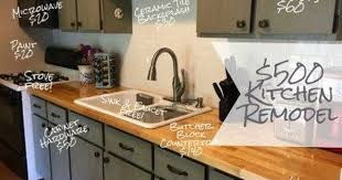 how to cheaply update kitchen cabinets updating a kitchen on a budget 15 awesome cheap ideas