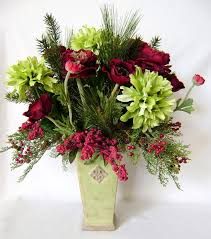 Silk Flowers Arrangements - 95 best christmas silk flower arrangements images on pinterest