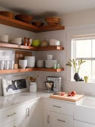 Small Cottage Kitchen Designs Tiny Home Cottage Kitchen These Open Shelves Make Use Of The