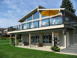 deck railing projects with fenton glass