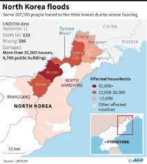 Missouri Flooding Map N Korea Flood Death Toll Rises To 133 With 395 Missing Un