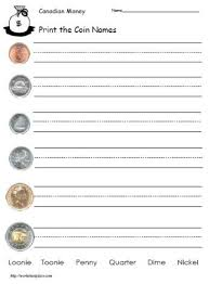 collections of printable canadian money worksheets wedding ideas