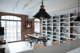 brick wall apartment sophisticated industrialism revealed in a london apartment
