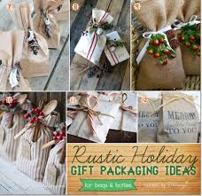 Homemade Christmas Ideas by Homemade Christmas Packaging Ideas With A Rustic Flair