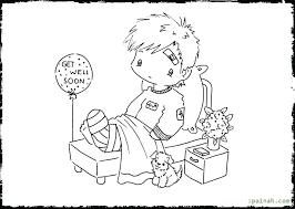 kids get well soon get well soon coloring pictures astounding get well soon coloring