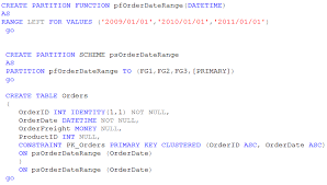 sql server create table primary key partitioning archiving tables in sql server part 2 merge