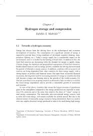 hydrogen storage and compression pdf download available