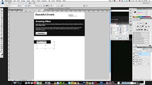 how to create a html email template 1 of 3 youtube