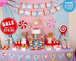 candyland decorations candyland etsy