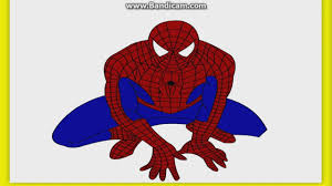 spiderman coloring pages online game spaderman in green color