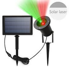 solar christmas light projector solar powered laser christmas laser star night light projector