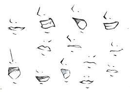 how to draw mouths by tokatoka on deviantart