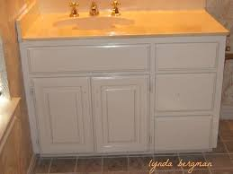lynda bergman decorative artisan gayle u0027s guest bath from outdated