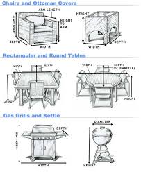 Waterproof Outdoor Patio Furniture Covers Amazing Custom Covers For Outdoor Furniture Waterproof Patio