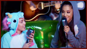ariana grande and miley cyrus duet gets flirty youtube