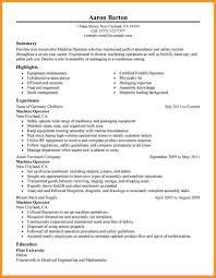 Certified Forklift Operator Resume 100 Sample Machine Operator Resume Resume Lpn Resume Cv