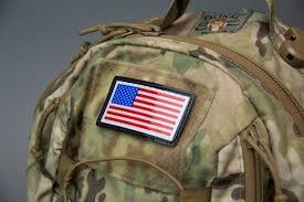 Uniform Flag Patch Mil Spec Monkey Msm Sealed Ir Us Flag Patch Double Tap Surplus