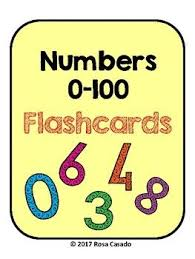 Flashcards Numbers 1 100 The 25 Best Number Flashcards Ideas On Pinterest Preschool