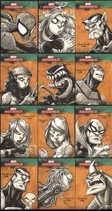 marvel masterpiece iii cards by j on deviantart