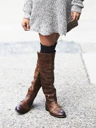 s boots knee high brown shoes dress boots sweater fall socks boots