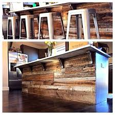 reclaimed kitchen island spectacular basement bar reclaimed wood ideas distressed wood