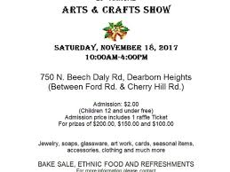 nov 18 sts and paul auxiliary arts and crafts show