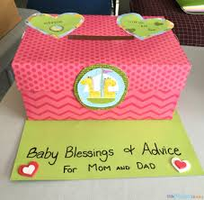 baby shower game idea u2013 advice and well wishes box little miss kate