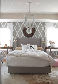 decorate by number serene grey bedroom the budget
