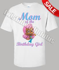 bubble guppies molly mom birthday shirt twistin twirlin tutus