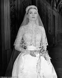 wedding dress grace nicky s wedding dress mimics kate middleton and grace