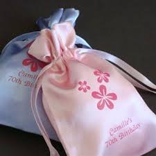 personalized wedding favor bags personalized satin favor bags wedding favors health
