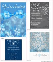 winter themed wedding invitations simple winter themed wedding invitations with image
