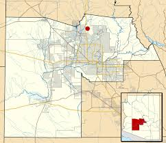 Map Of Tempe Arizona by Desert Hills Maricopa County Arizona Wikipedia