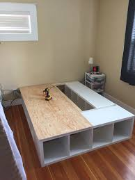 Bed Platform With Storage Ikea Bed Platforms 8 Awesome Pieces Of Bedroom Furniture You Wont