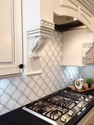 mosaic tile kitchen backsplash white arabesque glass mosaic tiles kitchen backsplash