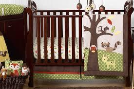 Crib Bedding Animals Woodland Forest Animals Baby Bedding 11pc Crib Set By Sweet Jojo