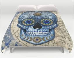 unique astrological sugar skull design artisan bedding u2013 sugar