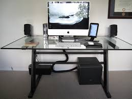 How To Organize Cables On Desk by Under Desk Cable Management Decorative Desk Decoration