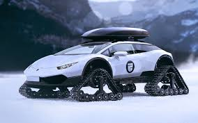 off road lamborghini the lamborghini huracan snowmobile is a millionaires fantasy