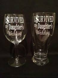 i survived my s wedding i do i do what she says wedding wine glass pilsner glass set