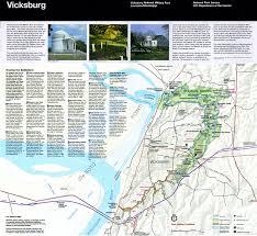 Pdf Maps Park Maps And Brochure Vicksburg National Military Park U S