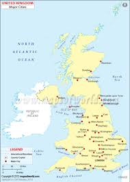 Blank Map Of The West Region by Uk Cities Map Map Of Uk Cities Cities In England Map