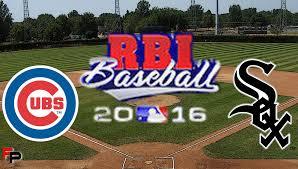 rbi baseball 16 chicago cubs vs chicago white sox full game